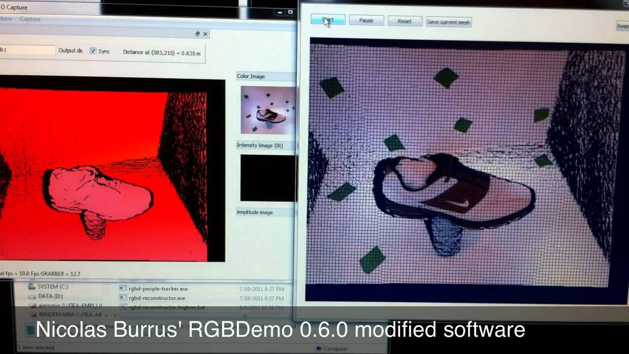 Kinect Turntable 3D Scanner | Kinect Hacks